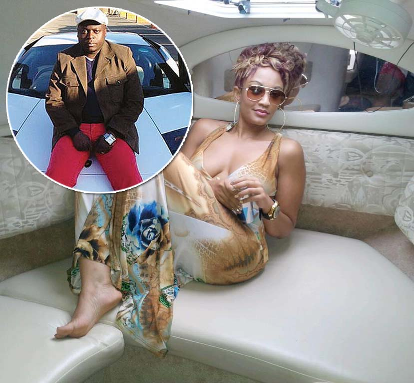 Socialite Zari Hassan claimed Ivan Ssemwanga (inset) left nothing on his bank account, he died broke