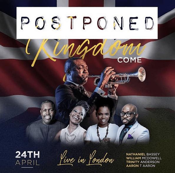 nathaniel bassey postpones concert