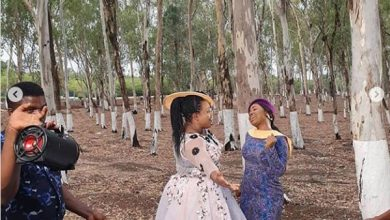 "Photo of Mercy Chinwo and Chioma Jesus Shoot New Video ""Okemmuo"""