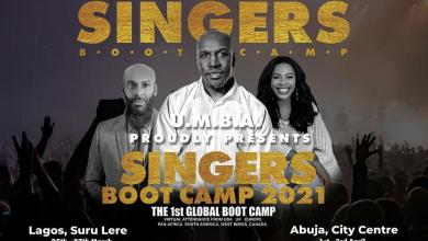 Photo of UMBA Proudly Presents The Ultimate Singers Boot Camp 2021 Featuring Isaiah Raymond Dyer, Ccioma & More | @thevoicecoachuk
