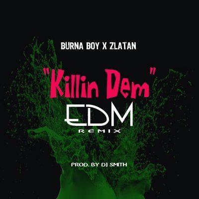 """Burna Boy & Zlatan """"Killin Dem"""" EDM remix by DJ Smith"""
