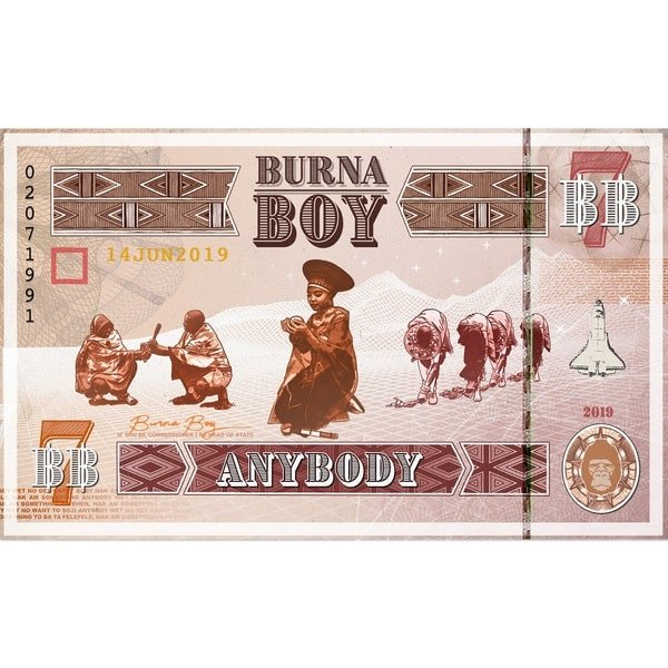 Download: Burna Boy – Anybody (Instrumental)