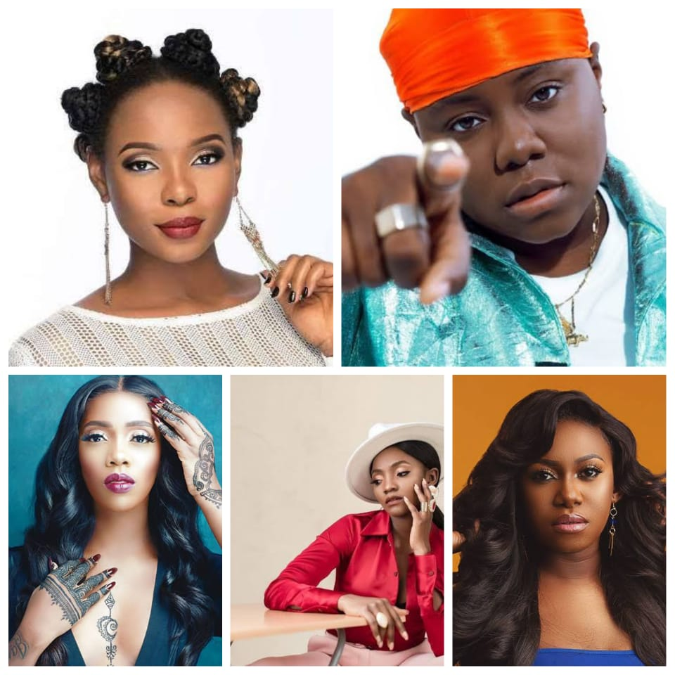 Top 5 Nigerian female Musicians