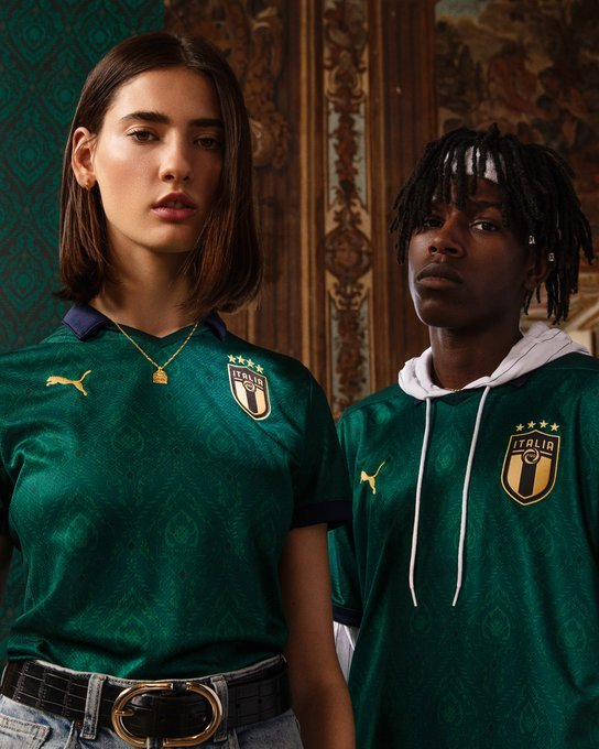New Italy Third Shirt 2019 20