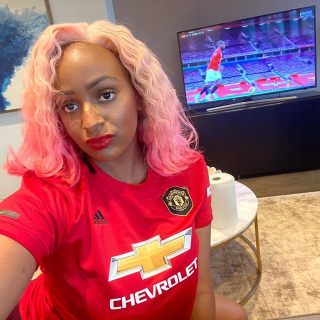 DJ Cuppy Features In Manchester United's Third Kit Unveiling Video