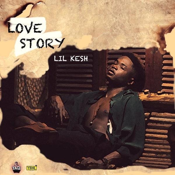 Lil Kesh Love Story Art