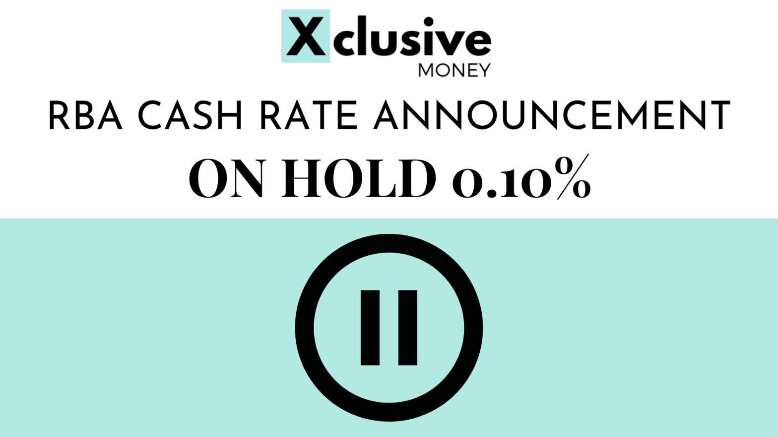 RBA cash rate may 2021