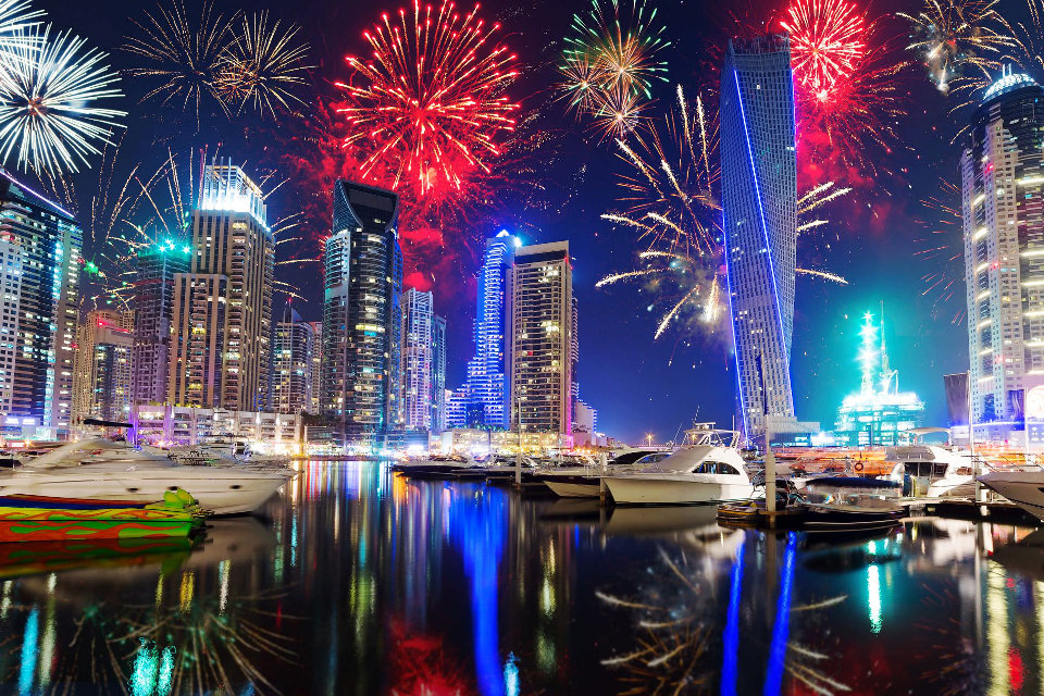 New Years Eve Party Dubai  New Year Celebrations in Dubai  Events in     New Year s Eve Yacht  Dubai