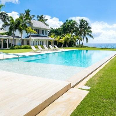 Ocean front villa casa de campo