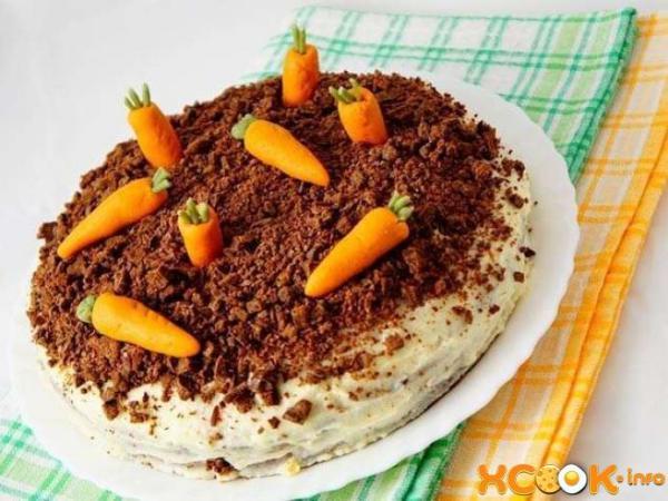 Морковный торт - лучший рецепт с фото, как его приготовить ...
