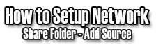 Share Folder on XBMC