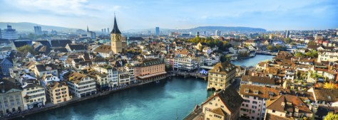 Zurich Cityscape, Switzerland