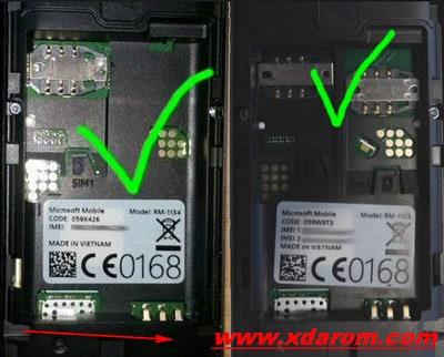 Nokia RM1133 Flash File