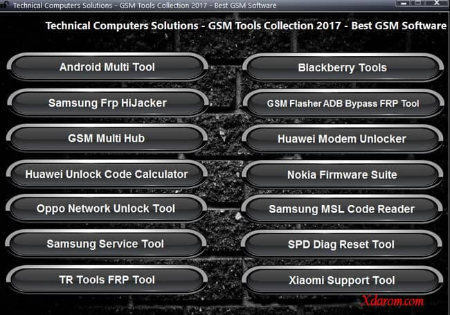 All In One GSM Cracked Tool 2018