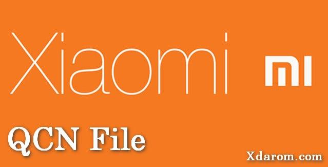 Xiaomi Mi QCN File Download