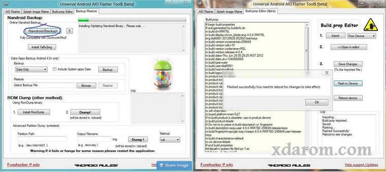 How To Use Universal Android AIO Flasher Tool