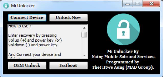 Xiaomi FRP Unlock Tool Download 100% Working