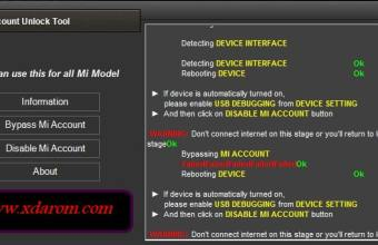 MI Account Unlock Tool Latest 100% Tested Free Download