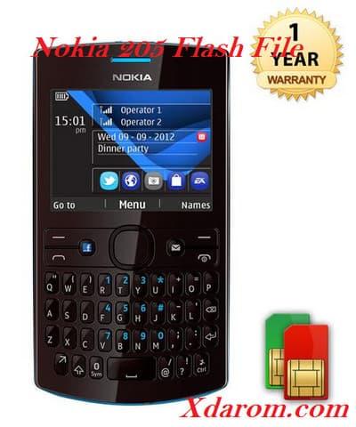 Nokia 205 Flash File