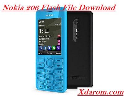 Nokia 206 Flash File