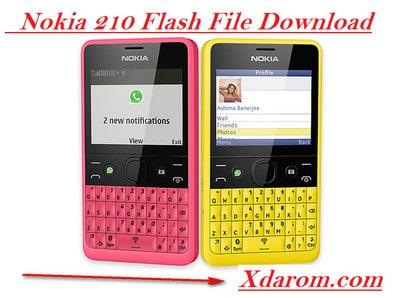 Nokia 210 Flash File