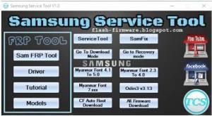 Samsung Service Tool