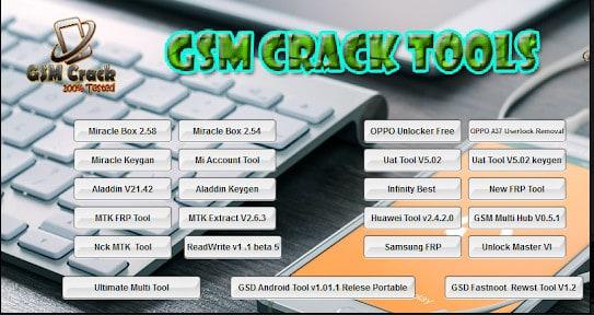 GSM Crack Tools
