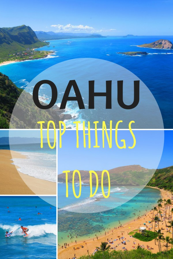 Top-10-things-to-do-in-Oahu---Hawaii-Pin | X days in Y
