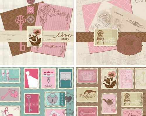 Ideas Vintage Style Wedding Invitation Templates Retro Design Invitations Sample Artorical Com