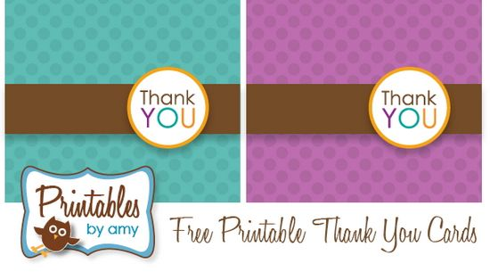 Free Printable Photo Thank You Card Templates  InfocardCo