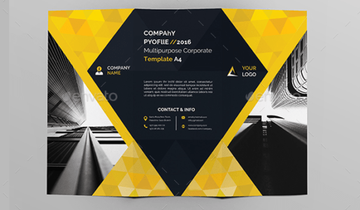 Download 10 Beautiful And Free Brochure Templates   XDesigns PSD Brochure Bundle Template