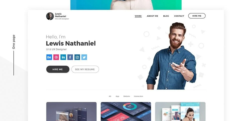 """In the accompanying video tutorial, you'll also learn the """"why"""" behind the design decisions that went into the ux portfolio template. Designer Portfolio Template In Adobe Xd Xdguru Com"""