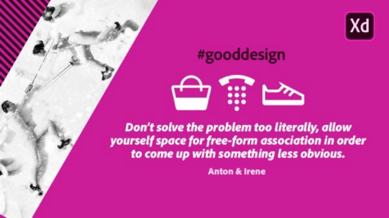 Adobe XD: Скачать бесплатно наборы иконок сделанные легендарными дизайнерами. Anton & Irene