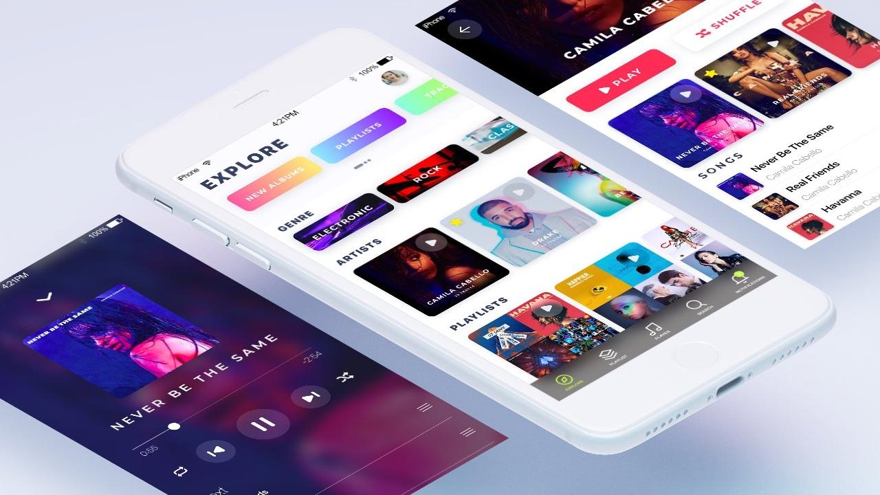 JukeBox – Приложение iOS для прослушивания музыки