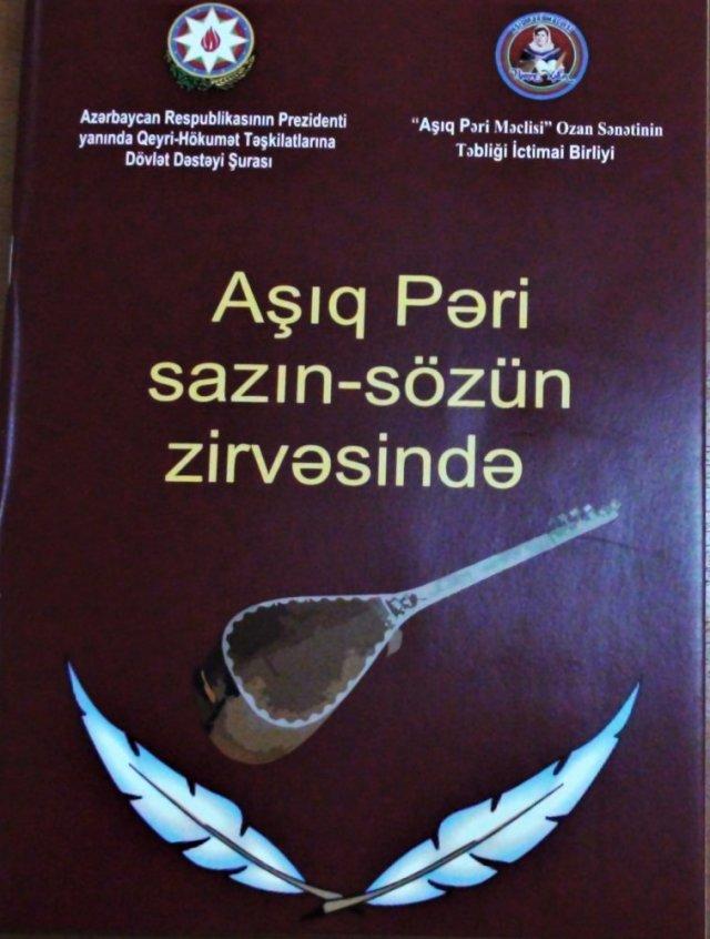 """""""Aşıq Pəri sazın sözün zirvəsində"""" kitabının təqdimat mərasimi keçrildi-FOTO"""