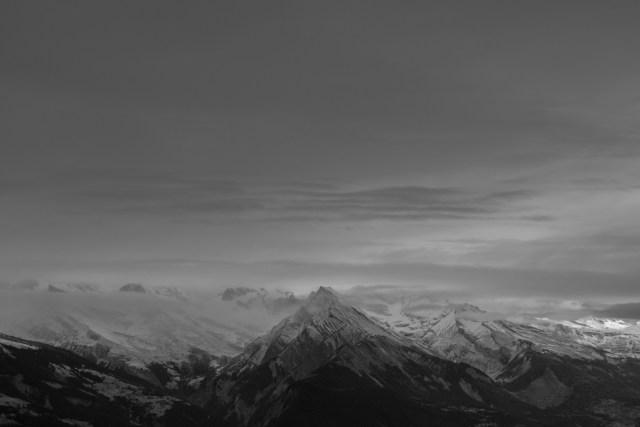Bergpanorama Nendaz