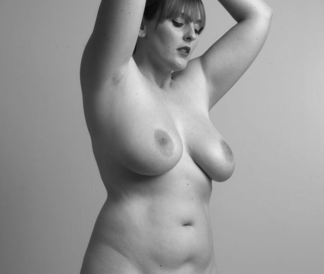 Plus Beautiful Nude Model Curvy Size