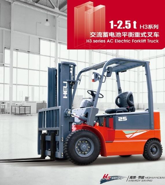 Xe nâng điện ngồi lái 1 tấn - 2.5 tấn