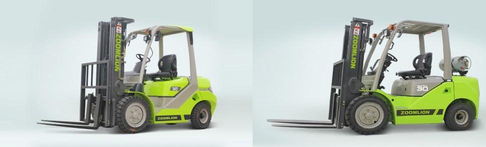 Xe nâng Diesel và LPG Zoomlion