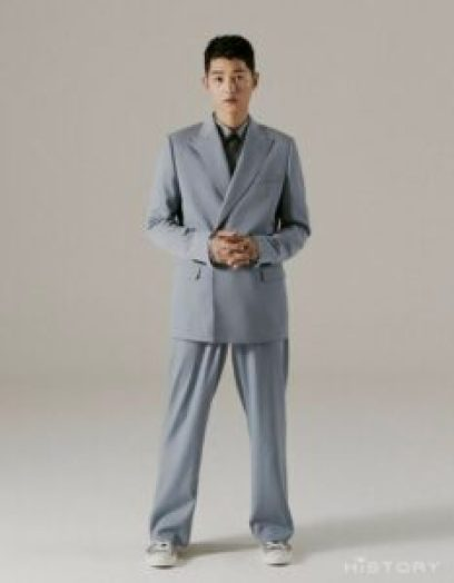 Song Joong Ki looks charismatic for the cover of Hi_High - 1