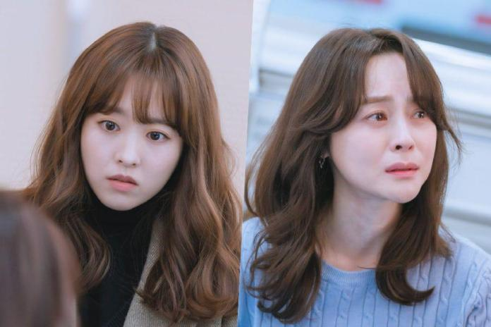 """Cover - """"Doom at Your Service"""" released stills of Park Bo Young and Woo Hee Jin"""