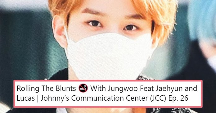 Cover - 9 of the funniest reactions to NCT's Jungwoo spotting smoking
