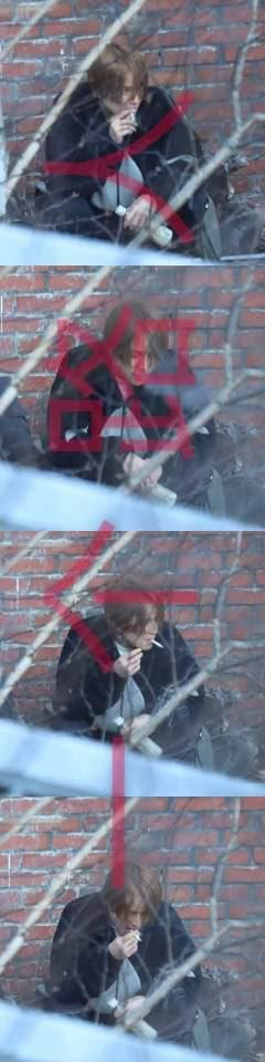 Pic 2 - 9 of the funniest reactions to NCT's Jungwoo spotting smoking
