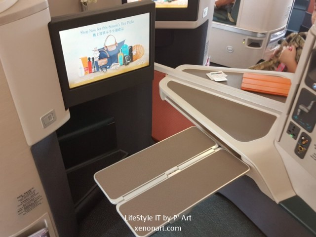 Review Cathay Pacific airline business class (102)