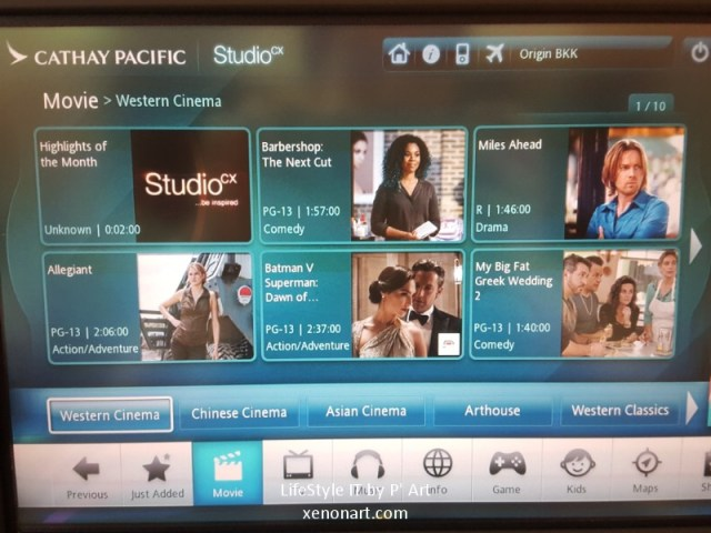 Review Cathay Pacific airline business class (115)
