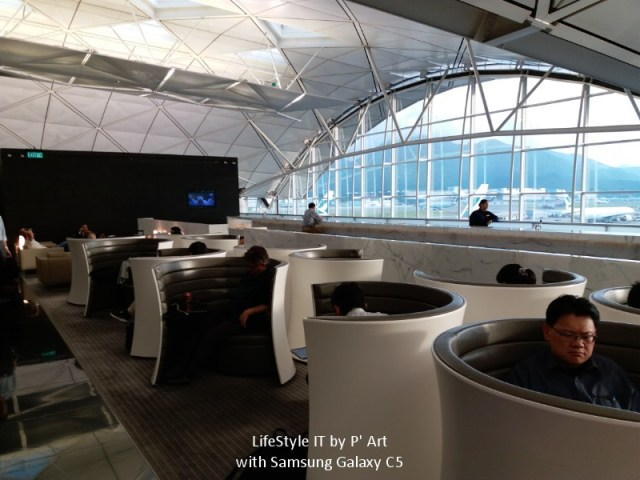 Review Cathay Pacific airline business class (40)