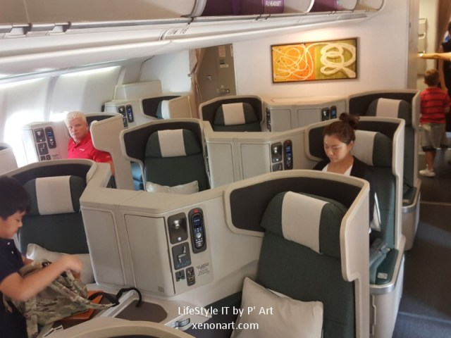 Review Cathay Pacific airline business class (95)