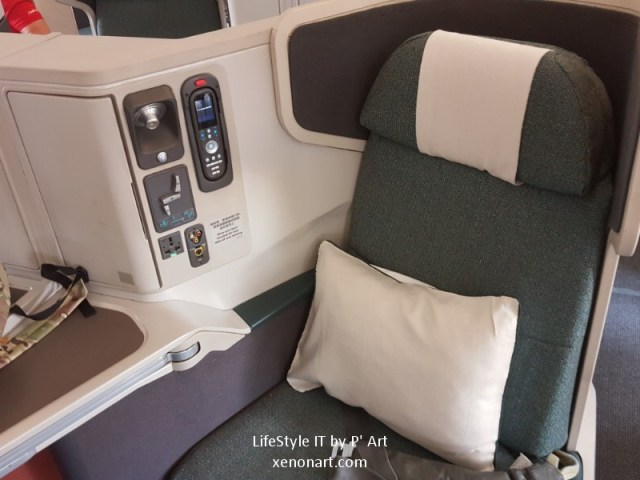 Review Cathay Pacific airline business class (96)