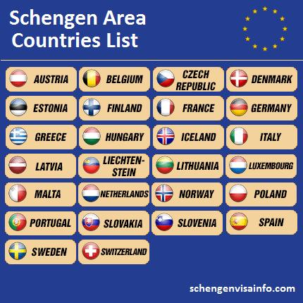 schengen-visa-countries-list