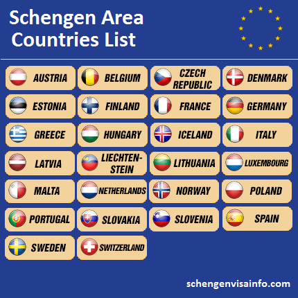 schengen-visa-countries-list